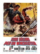 Blood on the Arrow - Italian Movie Poster (xs thumbnail)
