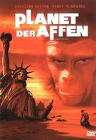 Planet of the Apes - German Movie Cover (xs thumbnail)