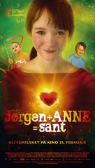 Jørgen + Anne = sant - Norwegian Movie Poster (xs thumbnail)
