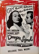 Danger Signal - Movie Poster (xs thumbnail)