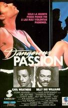 Dangerous Passion - Spanish Movie Cover (xs thumbnail)