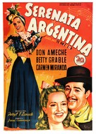 Down Argentine Way - Spanish Movie Poster (xs thumbnail)