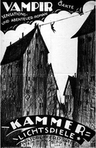Vampyr - Der Traum des Allan Grey - German Movie Poster (xs thumbnail)
