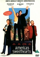 America's Sweethearts - Danish DVD cover (xs thumbnail)