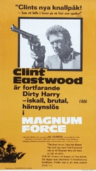 Magnum Force - Swedish Movie Poster (xs thumbnail)
