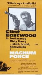 Magnum Force - Swedish Movie Poster (xs thumbnail)