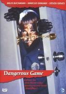 Dangerous Game - German DVD cover (xs thumbnail)