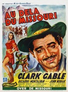 Across the Wide Missouri - Belgian Movie Poster (xs thumbnail)
