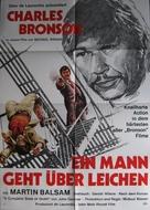 The Stone Killer - German Movie Poster (xs thumbnail)