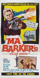 Ma Barker's Killer Brood - Movie Poster (xs thumbnail)