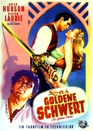 The Golden Blade - German Movie Poster (xs thumbnail)