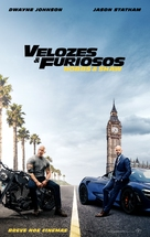 Fast & Furious Presents: Hobbs & Shaw - Brazilian Movie Poster (xs thumbnail)
