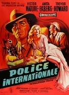 Interpol - French Movie Poster (xs thumbnail)