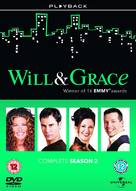 """""""Will & Grace"""" - British DVD movie cover (xs thumbnail)"""