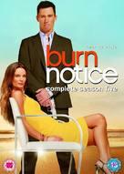 """Burn Notice"" - British DVD movie cover (xs thumbnail)"