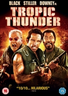 Tropic Thunder - British DVD cover (xs thumbnail)