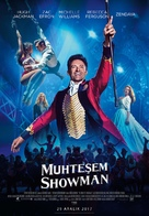 The Greatest Showman - Turkish Movie Poster (xs thumbnail)