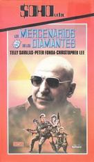 Killer Force - Spanish VHS cover (xs thumbnail)