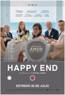 Happy End - Spanish Movie Poster (xs thumbnail)