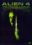 Alien: Resurrection - Hungarian DVD cover (xs thumbnail)