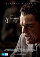 J. Edgar - Australian Movie Poster (xs thumbnail)