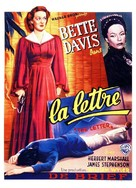 The Letter - Belgian Movie Poster (xs thumbnail)