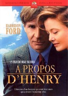 Regarding Henry - French DVD cover (xs thumbnail)
