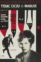 Die 1000 Augen des Dr. Mabuse - Polish Theatrical poster (xs thumbnail)