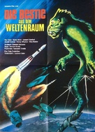 20 Million Miles to Earth - German Movie Poster (xs thumbnail)