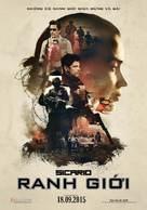 Sicario - Vietnamese Movie Poster (xs thumbnail)