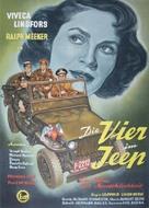 Die Vier im Jeep - Swiss Movie Poster (xs thumbnail)