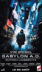 Babylon A.D. - French Movie Poster (xs thumbnail)