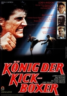The King of the Kickboxers - German Movie Poster (xs thumbnail)