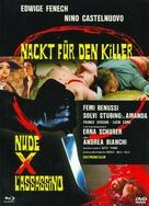 Nude per l'assassino - German Blu-Ray movie cover (xs thumbnail)