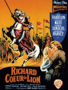 King Richard and the Crusaders - French Movie Poster (xs thumbnail)