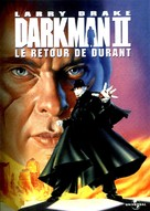 Darkman II: The Return of Durant - French DVD movie cover (xs thumbnail)