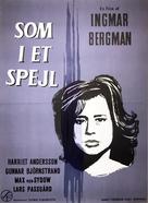 Såsom i en spegel - Danish Movie Poster (xs thumbnail)