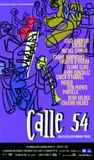 Calle 54 - Spanish Movie Poster (xs thumbnail)