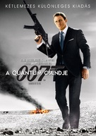 Quantum of Solace - Hungarian Movie Cover (xs thumbnail)