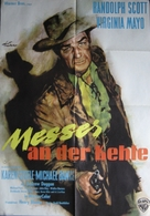 Westbound - German Movie Poster (xs thumbnail)
