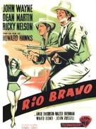Rio Bravo - French Movie Poster (xs thumbnail)