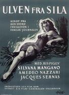 Lupo della Sila, Il - Danish Movie Poster (xs thumbnail)