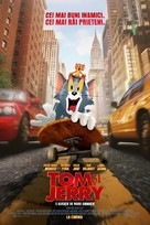 Tom and Jerry - Romanian Movie Poster (xs thumbnail)