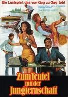 La segretaria privata di mio padre - German Movie Poster (xs thumbnail)