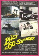 Gone in 60 Seconds - Swedish Movie Poster (xs thumbnail)