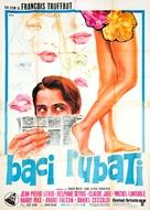 Baisers volés - Italian Movie Poster (xs thumbnail)