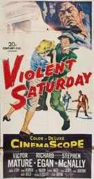Violent Saturday - Movie Poster (xs thumbnail)