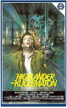 Highlander - Finnish VHS movie cover (xs thumbnail)