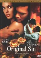 Original Sin - DVD cover (xs thumbnail)