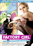 Factory Girl - German Theatrical movie poster (xs thumbnail)